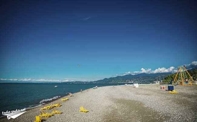 Пляжи Батуми
