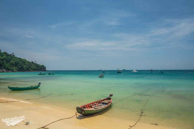 пляж Гань Дау Фукуок