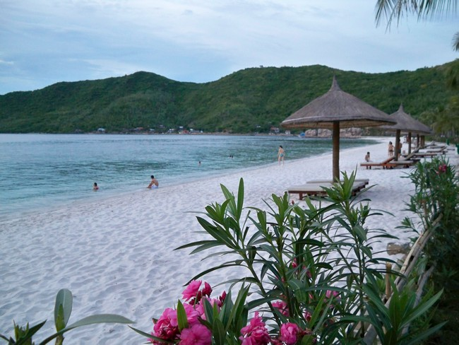 пляж Винперл Нячанг