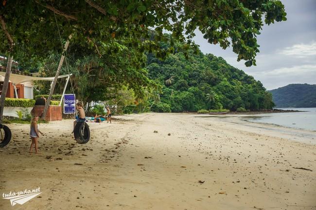 пляж Као Кад Пхукет