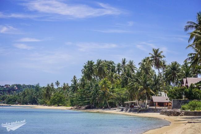 пляж Банг Као Самуи