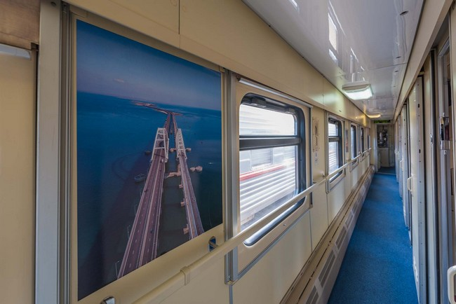 поезд в Крым фото