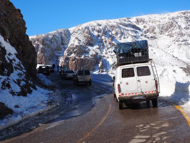 снег марокко
