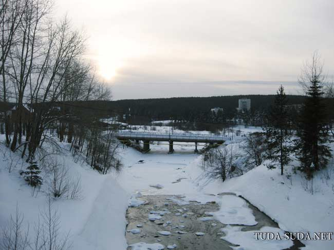 Краснотурьинск плотина
