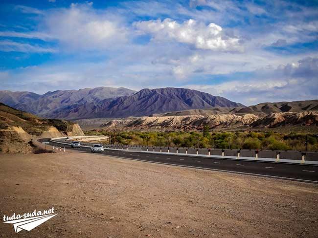Дорога на Иссык-Куль фото