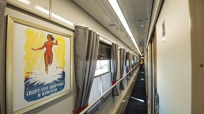 ретро-поезд Сочи-Гагры