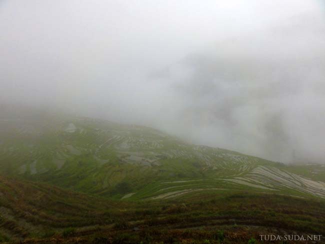 Террасы в облаках, Китай