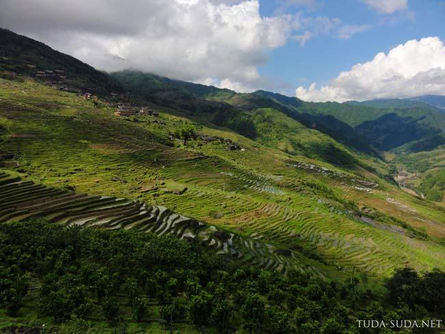 Рисовые террасы, Китай