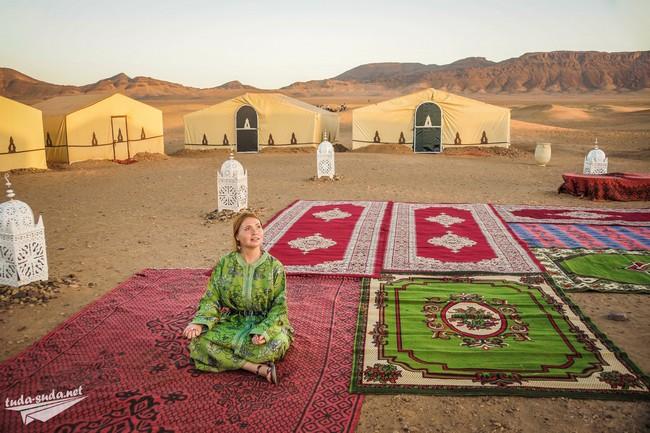 пустыня лагерь