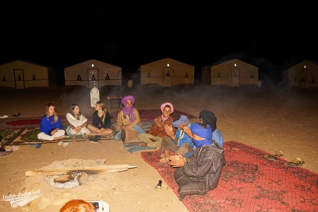 экскурсия в пустыню Сахара Марокко