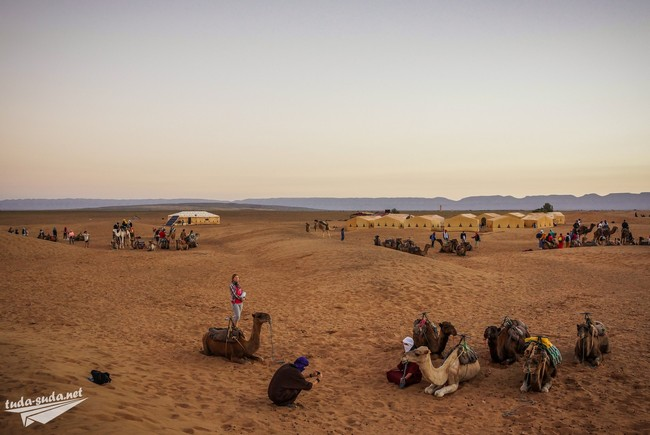 тур в пустыню марокко
