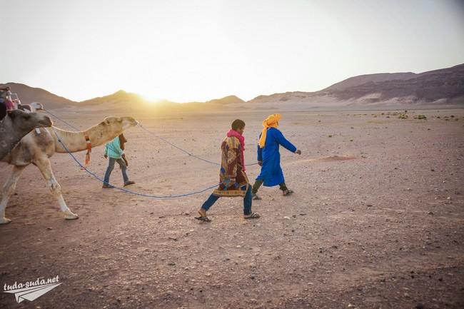 пустыня рассвет фото