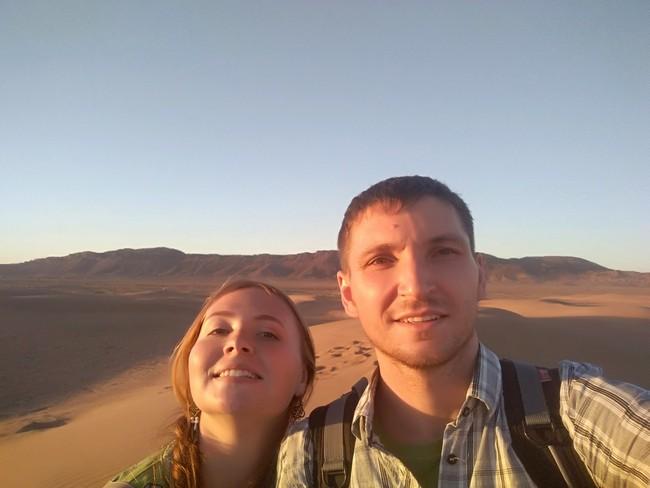 пустыня Марокко