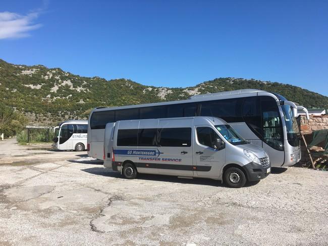автобус Черногория