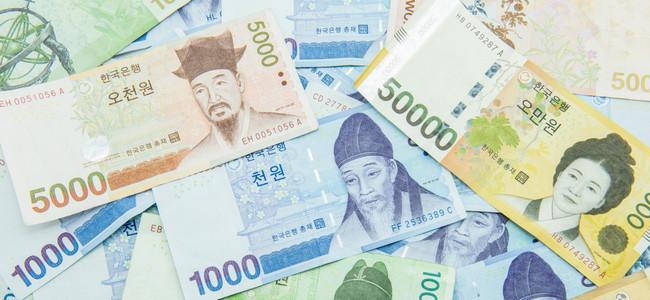 Южная Корея деньги
