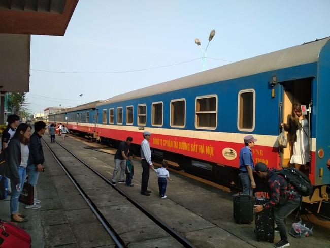 Вьетнамский поезд фото