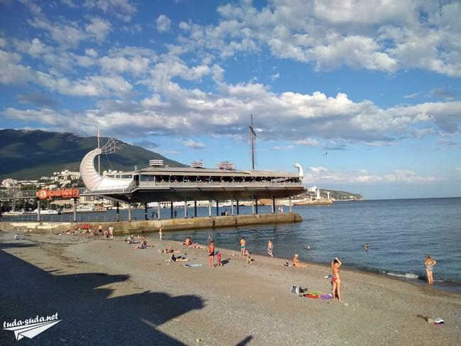 Пляж Ялта