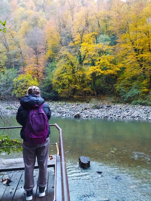 что делать в Сочи в ноябре: Ореховский водопад
