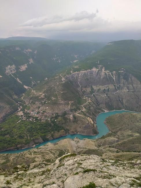 Сулакский каньон фото