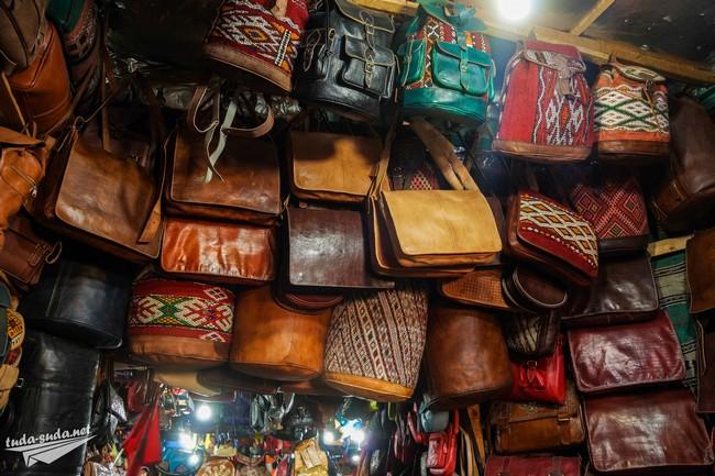 Изделия из кожи Марокко