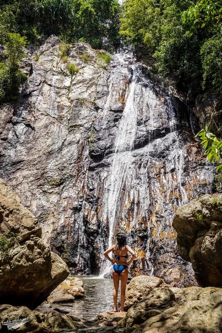 Водопад Nam Tok Самуи