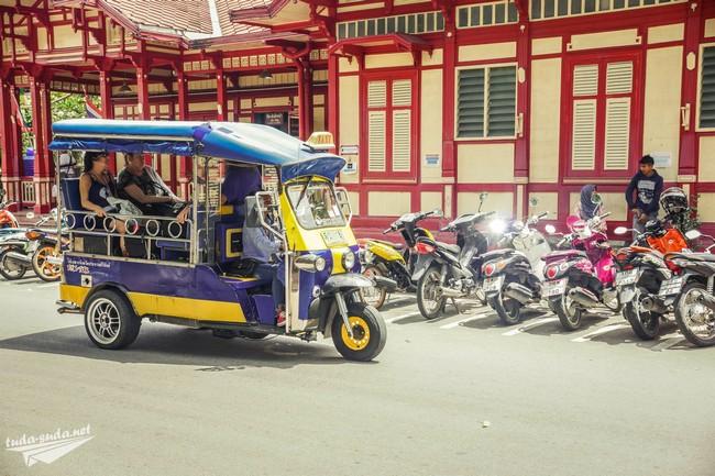 тук тук таиланд фото