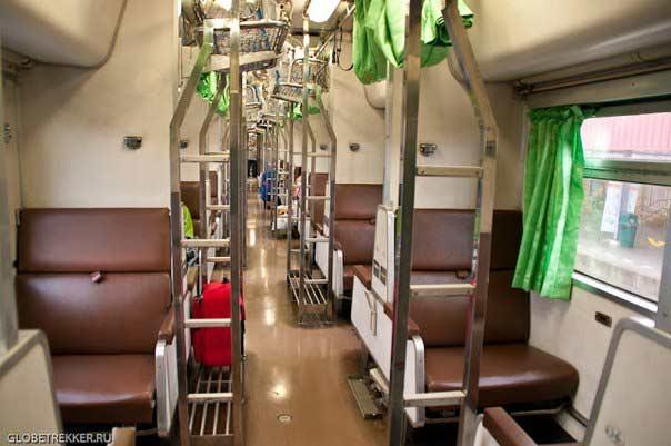 Тайские поезда фото