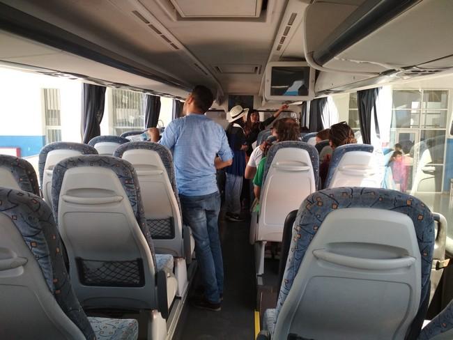 bus morocco