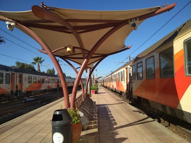 поезд Марокко