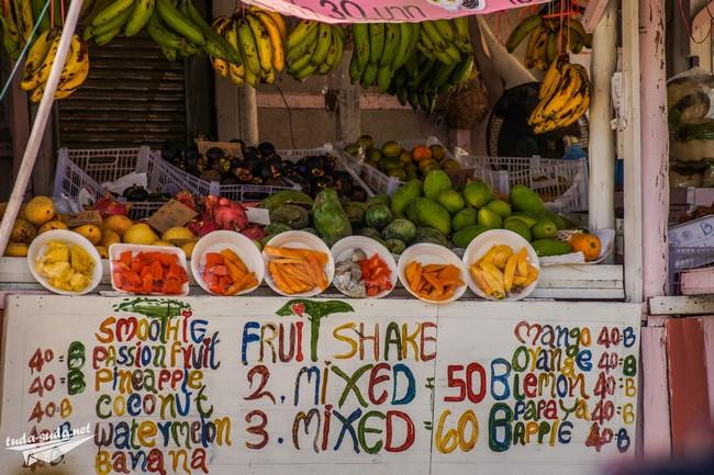 Цены на Ко Чанге на фрукты