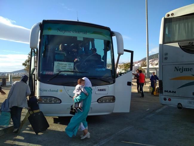 bus morocco photo