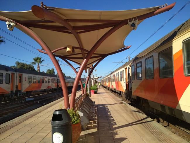 train morocco picture