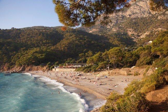 Пляж Кабак Турция