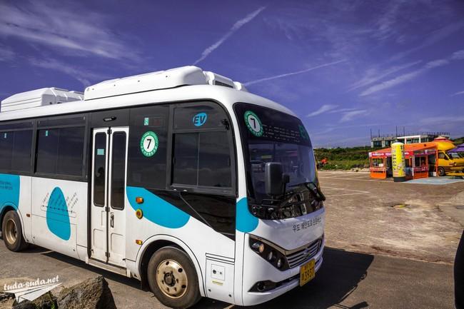 Автобус остров Удо