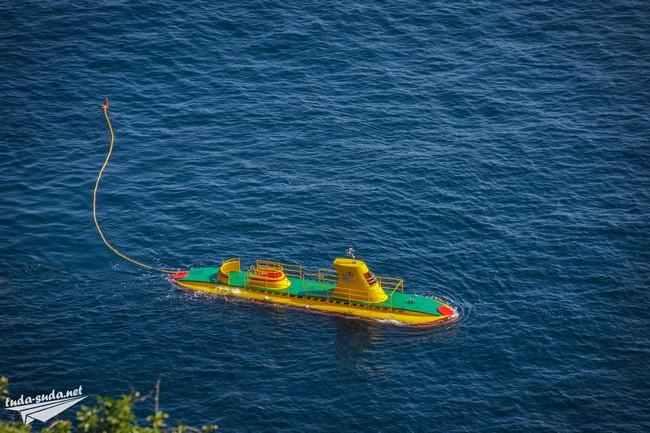 Подводная лодка экскурсии
