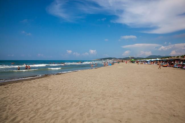 Большой пляж Черногория