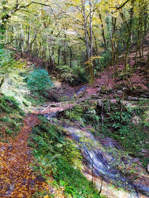 маршрут на водопад Ажек
