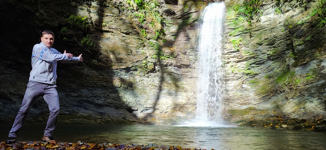 Водопад Ажек Сочи