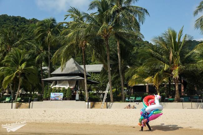пляж вайт сенд