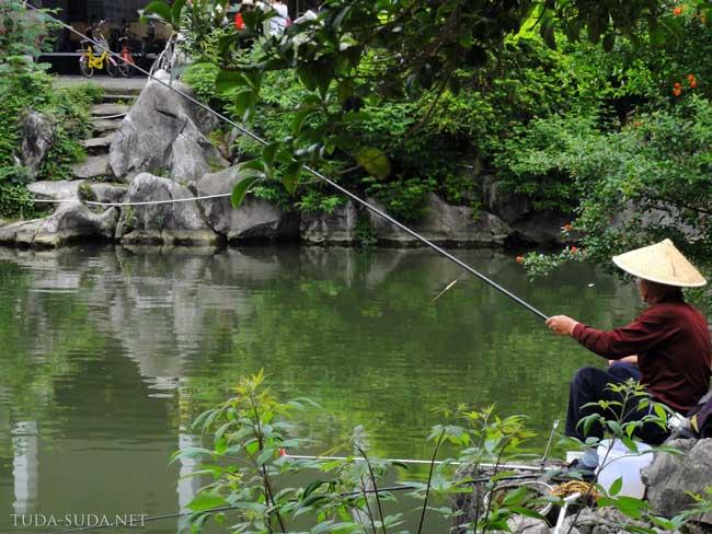 Рыбак Азия